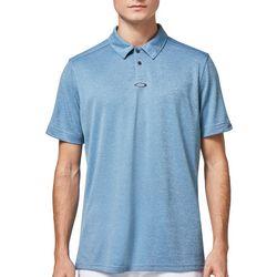 Oakley Mens Gravity Heathered Polo Shirt