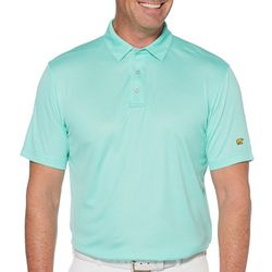 Jack Nicklaus Mens Jacquard Geometric Golf Polo Shirt