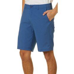 Jack Nicklaus Mens Sailboat Print Flat Front Golf Shorts