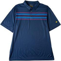 Jack Nicklaus Mens Driver Chest Stripe Golf Polo Shirt