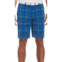 Mens Plaid Golf Shorts