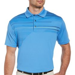 Jack Nicklaus Mens Asymmetrical Golf Polo Shirt