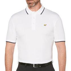 Jack Nicklaus Mens Solid Golf Polo Shirt