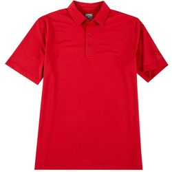 Mens Stripe Pro Spin Polo Shirt