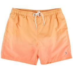 Mens Aquatica Ombre Orange Boardshorts