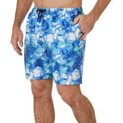 Reel Legends Mens Aquatica Shoreline Camo Boardshorts
