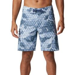 Mens PFG Offshore II Scale Print Boardshorts