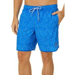 Mr. Swim Mens Palm Leaf Swim Trunks