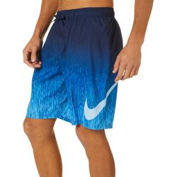 Nike Mens Breaker Faded Logo Swim Trunks
