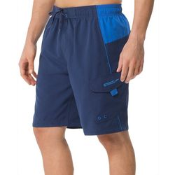 Speedo Mens Sport Colorblock Volley Shorts