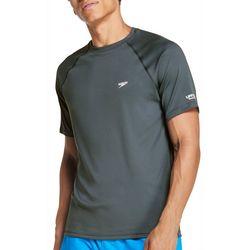 Speedo Mens Solid Short Sleeve Swim T-Shirt