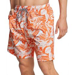 Mens Redondo Eitched Floral Volley Boardshorts