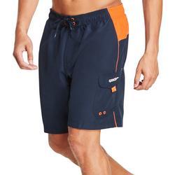 Mens Sport Colorblock Volley Shorts