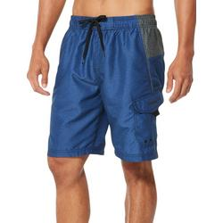 Mens Sport Heathered Volley Shorts