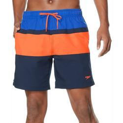 Mens Colorblocked Volley Boardshorts