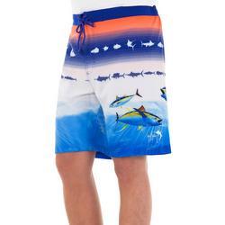 Mens Patriotic PRint Shorts