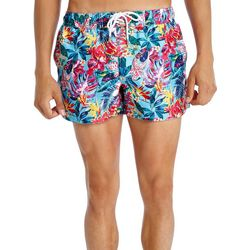 2xist Mens Ibiza Tropical Floral Swim Shorts