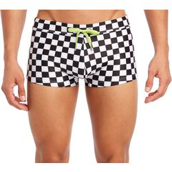 2xist Mens Cabo Checkered Swim Trunks