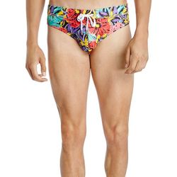 2xist Mens Rio Jungle Floral Swim Briefs