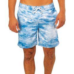 Caribbean Joe Mens Sailfish Eboard Swim Trunks