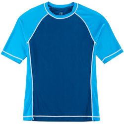 PGA TOUR Mens Colorblocked Swim T-Shirt