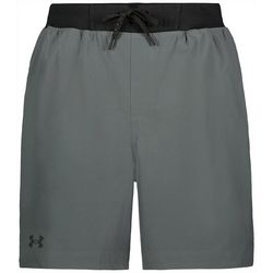 Under Armour Mens Solid Small Logo Swim Trunk