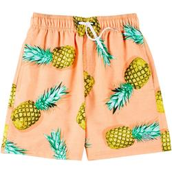 Mens Pineapple Twist Volley Shorts