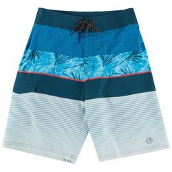 Ocean Current Mens Stenson Striped Boardshorts