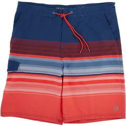 Ocean Current Mens Varsity Stripe Volley Short