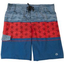 Ocean Current Mens Americana Swim Shorts