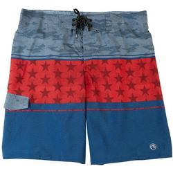 Mens Americana Swim Shorts