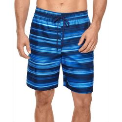 Mens Horizon Drawstring Volley Swim Trunks