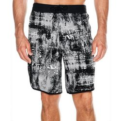 Mens Abstract Splatter Boardshorts