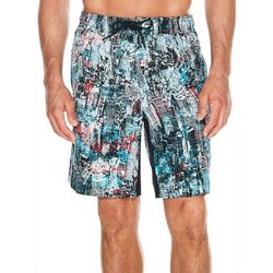 Reebok Mens Abstract City Scene Volley Shorts