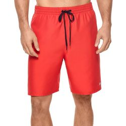 Reebok Mens Fullerton Solid Swim Trunks
