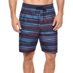 Reebok Mens Horizon Stripe Swim Trunks