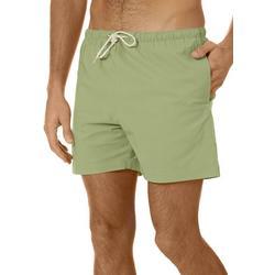 Boca Islandwear Mens Solid Swim Trunks