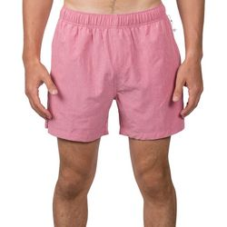 Mens Solid Swim Shorts