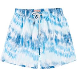 Mens Tie Dye Swim Trunks