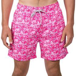 Mens Flamingo Swim Shorts