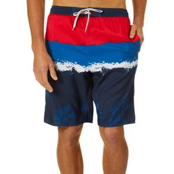 Burnside Mens Flower Power E-Boardshorts