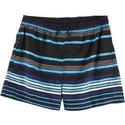 Burnside Mens Racing Stripe Volley Shorts