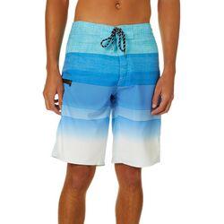 Distortion Mens Blue Bird Boardshorts