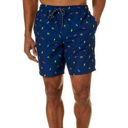 Mens Cambridge Tropical Volley Shorts