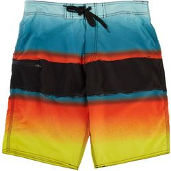 Distortion Mens Saltwater Stripe Boardshorts