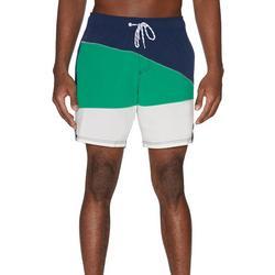 Mens Colorblocked Volley Swim Shorts