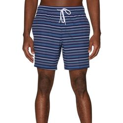 Mens Rope Stripe Volley Swim Shorts