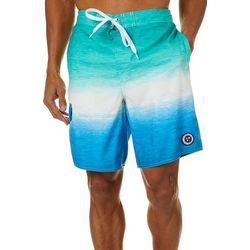 Newport Blue Mens Flowing Free Boardshorts