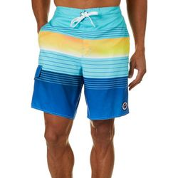 Newport Blue Mens Colossal Arena Boardshorts