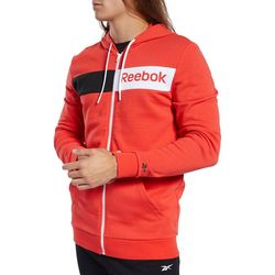 Reebok Mens Training Essentials Linear Logo Hoodie